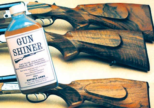 Gunshiner Great for Oil Finnished Srocks