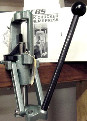 The Rock Chucker Supreme Reloading Press