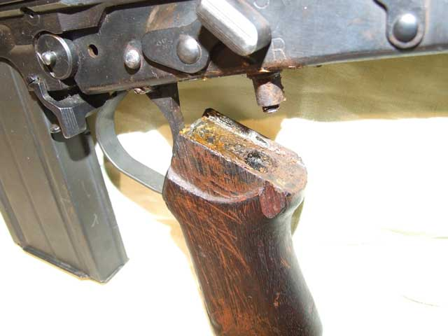 Look after your Rifle and it will look after you. Rusty rifles are not Trusty Rifles.
