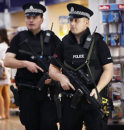Does any one really think the British Bobbies are unaremed?