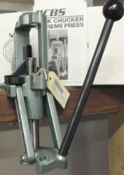 The Press that all others are judged by, the RCBS Rock Chucker, the most famous 'O' frame Press