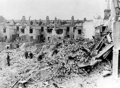 World War Two Bombing of British working class housing by Germany created the maximum amount of suffering to the people least able to deal with it. This in turn built fierce resistance which was repaid to Germany in kind and revenged at the War Trials.