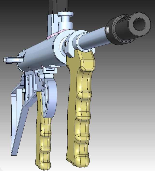 OWEN GUN Front DrawingTiny