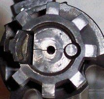 AR15 Bolt head-TINYCracked
