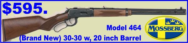 MossbergLever Actio30-301