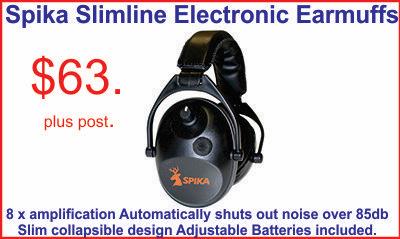 Spika Ectronic Ear muffs Tiny