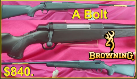 Browning A Bolt $840 SMALL