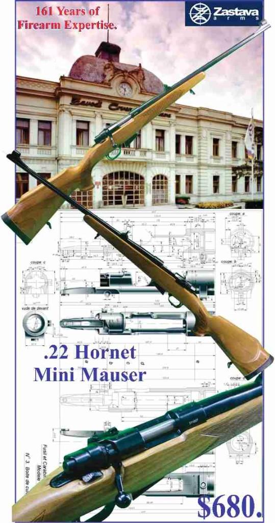 Zastava Firearms .22 hornet TINY
