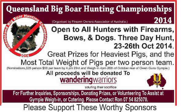 Tiny Prizes Sponsors Hunting Champ