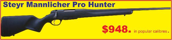 Steyr Pro Hunter