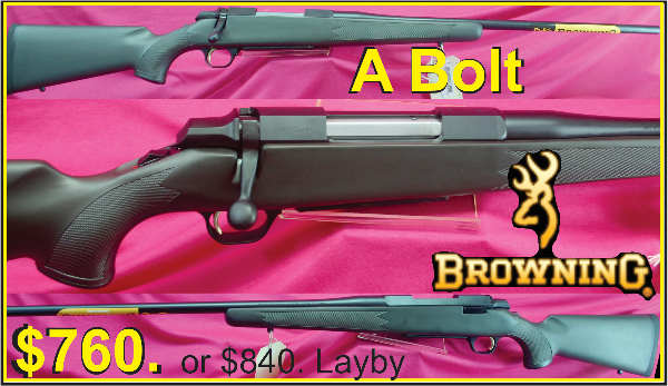 Browning A Bolt $760. Tiny