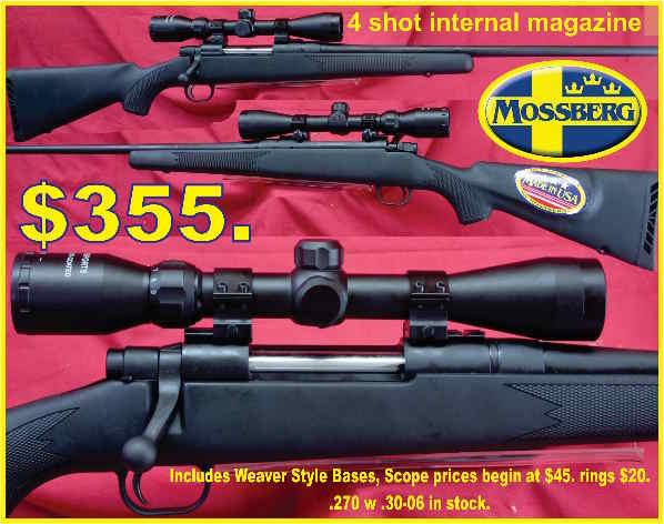 Mossberg Maverick $355