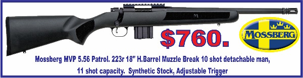 Mossberg 556 18inc Tiny