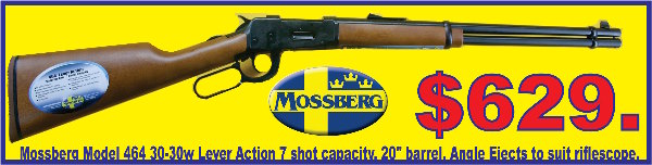 Mossberg Leaver Action 30-30 Tiny