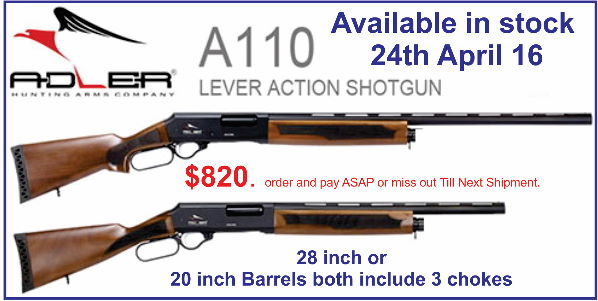 Adler Shotguns small