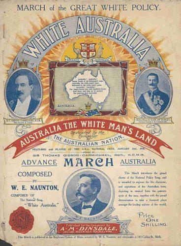 A White Australia policy