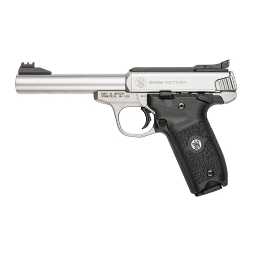 Smith and Wesson Victory Semi Auto Stainless Steel With 2 Magazine $760