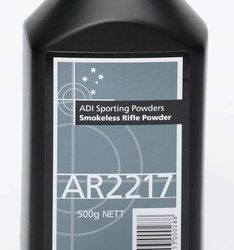 ADI AR2217 Reloading powder 500 Grams $ 55.00