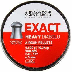 JSB 177 Extra Heavy Pellet Tin of 500 10.34gr $ 24.65