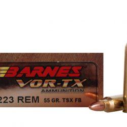 Barnes Vor-tx 223 Rem 55gr TSX FB Ammo box of 20 $ 60.45