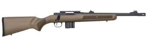 Mossberg MVP Patrol right hand blued 16.25in Heavy barrel Tan colour synthetic stock 1 9 twist open sights with picatinny rail detachable 10 shot magazine $ 925.00