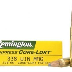 Remington .338 Win Mag 225gr Soft Point ammo Box of 20 $ 116.95