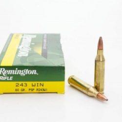 Remington 243 Win 80gr PSP Pack of 20 $ 36.90
