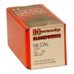 Hornady .570 Round ball Box of 50 $ 20.75