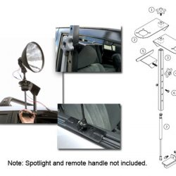 Light force support a light spot light mount $ 145.00