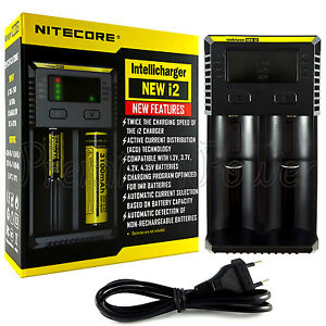 Nitecore New I2 Intellicharger Li-ion and Ni-MH battery charger $ 30.65