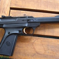 Browning Buckmark 5.5 in flat sided bull barrel blue $ 1050.00