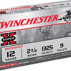 Winchester 12ga 00SG Buckshot 9 pellets per cartridge Box of 25 $ 24.20