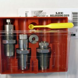 Lee limited production full length seat and factory crimp 6mm REM - 244 Rem die set with shell holder $ 67.90