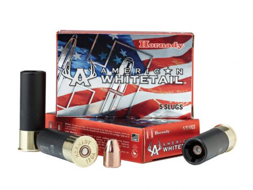 Hornady 12ga Whitetails 325gr jacketed hollow point saboted slug 1625fps Box of 5 $ 18.95