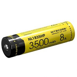 Nitecore Li-Ion 3500 mAH rechargeable battery high performance $ 41.60