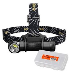 Nitecore 1800 Lumens headlamp 5 brightness levels Torch is removeable from head band with Charger No Battery $ 142.00