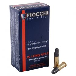 Fiocchi .22 Long Rifle Round Nose Lead Box of 50 $ 7.70