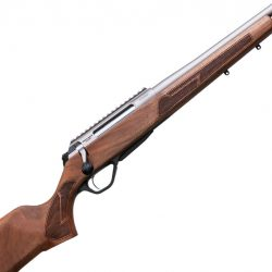 Lithgow LA102 .223rem Titanium coated barrel action walnut stock 1-2 x 28 threaded muzzle tight hand 3 shot $ 1585.00