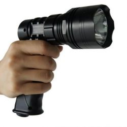 Pro Tactical 810 Lumens rechargeable pistol grip torch $ 108.90