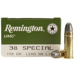 Remington 38Spll 158gr Lead round nose Box of 50 $ 38.80