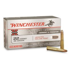 Winchester 22 Hornet 46 Hp Pack of 50 $ 65.45