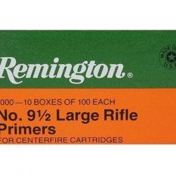 Remington Large Rifle Primer No9.5 Tray of 100 $ 8.80