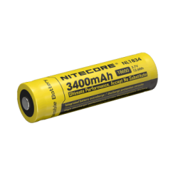 Nitecore rechargeable Li-ion 18650 series 3400mAh Battery pack of 1 $ 33.90