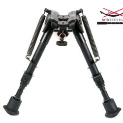 Night Prowler 6 to 9 Inch Notched Leg Fixed Harris Style Bipod $ 51.00