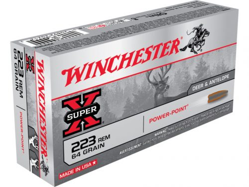 Winchester 223 64gr Power Point Box of 20 $ 33.90