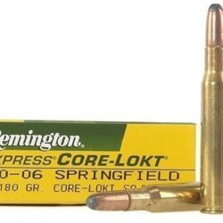 Remington 30-06 180gr Soft Point Ammo Box of 20 $ 31.20