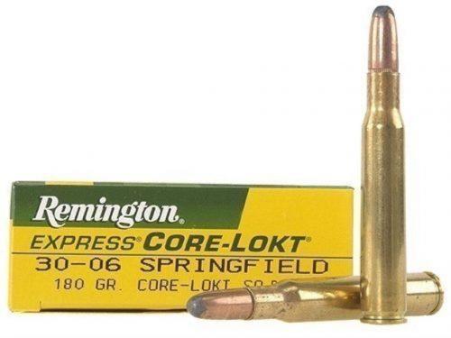 Remington 30-06 180gr Soft Point Ammo Box of 20 $ 31.20