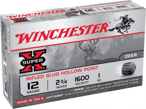 Winchester 12 Gauge rifled Slug hollow point 1oz $ 15.25