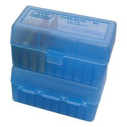MTM hinged 50 round Medium size cartridge ammo box $ 10.60