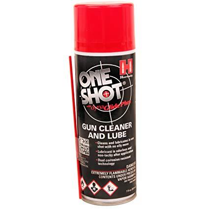 Hornady 141grm Aerosol spray One Shot gun cleaner and lube $ 17.45